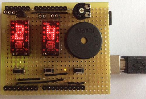 Termometro con Arduino e display TIL311